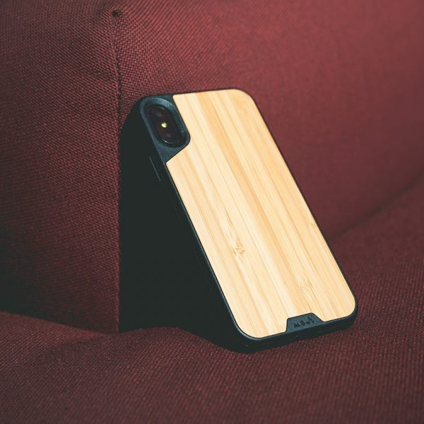 Real Wood Case for iPhone X - Mous Malaysia & Storming Gravity
