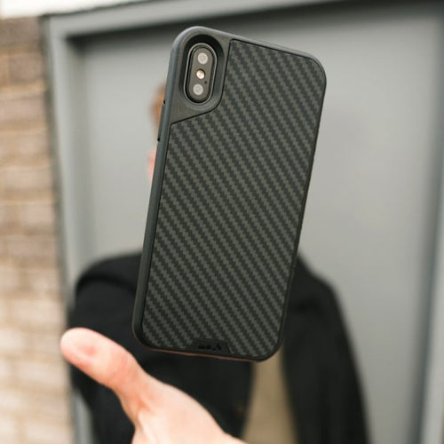 Mous - Real Carbon Fiber Case for iPhone X / Xs / Xs Max / XR - Mous Malaysia - Storming Gravity