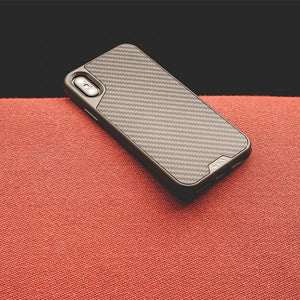Mous - Real Carbon Fiber Case for iPhone X - Mous - Storming Gravity