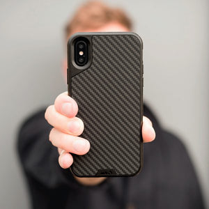 Mous - Real Carbon Fiber Case for iPhone X / Xs / Xs Max / XR - Mous in Malaysia - Storming Gravity