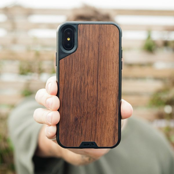 pretty nice 2c631 cc5b9 Mous - Real Wood Case for iPhone X / Xs / Xs Max / XR