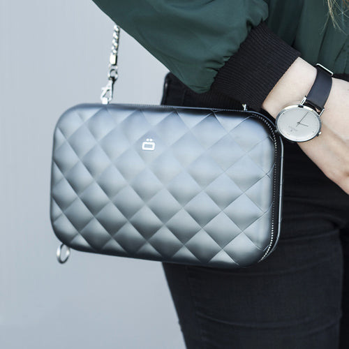 QUILTED LADY BAG Aluminium Clutch - Ögon Designs Malaysia - Storming Gravity