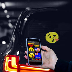 mojipic - Voice-control Emoji Car Display - Mojipic in Malaysia - Storming Gravity