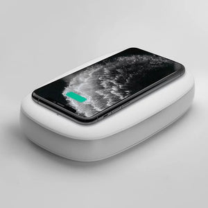 Q Power Phone Sterilizer + Wireless Charger - Momax - Momax in Malaysia - Storming Gravity