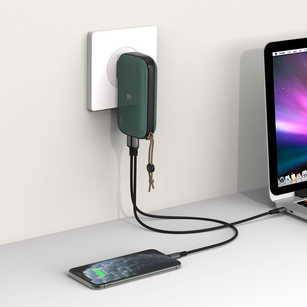 Mr. Charger 2.0: 4-in-1 Hybrid Wireless + Wired Charger - IDMIX in Malaysia - Storming Gravity