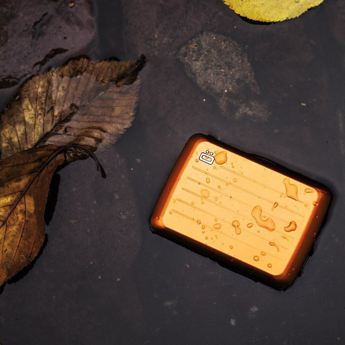 ÖGON STOCKHOLM V2 - Theft-proof Water-Resistant Card Case
