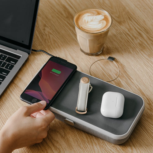 Orbitkey Nest - Desk organiser + Wireless Charger