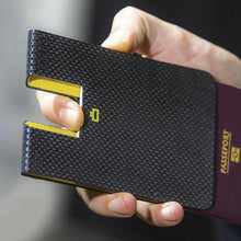 CARBON PASSPORT CLIP Passport Holder - Storming Gravity