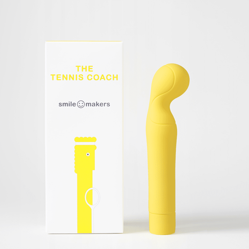 The Tennis Coach - Powerful G-Spot Vibrator for Women