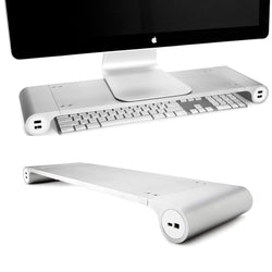 Space Bar by Quirky - Monitor Stand + 6-port USB Hub - Quirky Malaysia - Storming Gravity