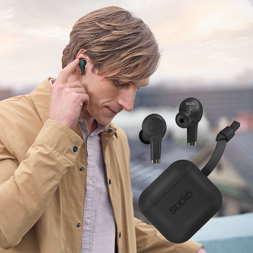 Sudio ETT - Active & Environment Noise Cancelling Earphone - Sudio in Malaysia - Storming Gravity