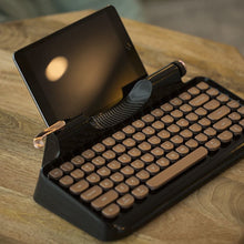 Vinpok Rymek Retro Dual Mode Mechanical Keyboard - Vinpok Malaysia - Storming Gravity