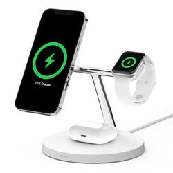 BOOST↑CHARGE™ PRO 3-in-1 Wireless Charger with MagSafe 15W (Ship by early June)