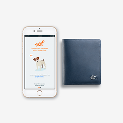 Woolet - Woof Glow - The Minimalist Smart Wallet