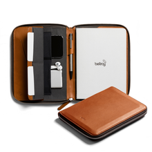 Work Folio A5: Leather Folder - Bellroy in Malaysia - Storming Gravity