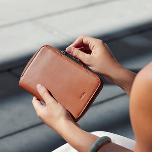 Bellroy Travel Folio | Zip Up Leather Passport Holder - Bellroy in Malaysia - Storming Gravity