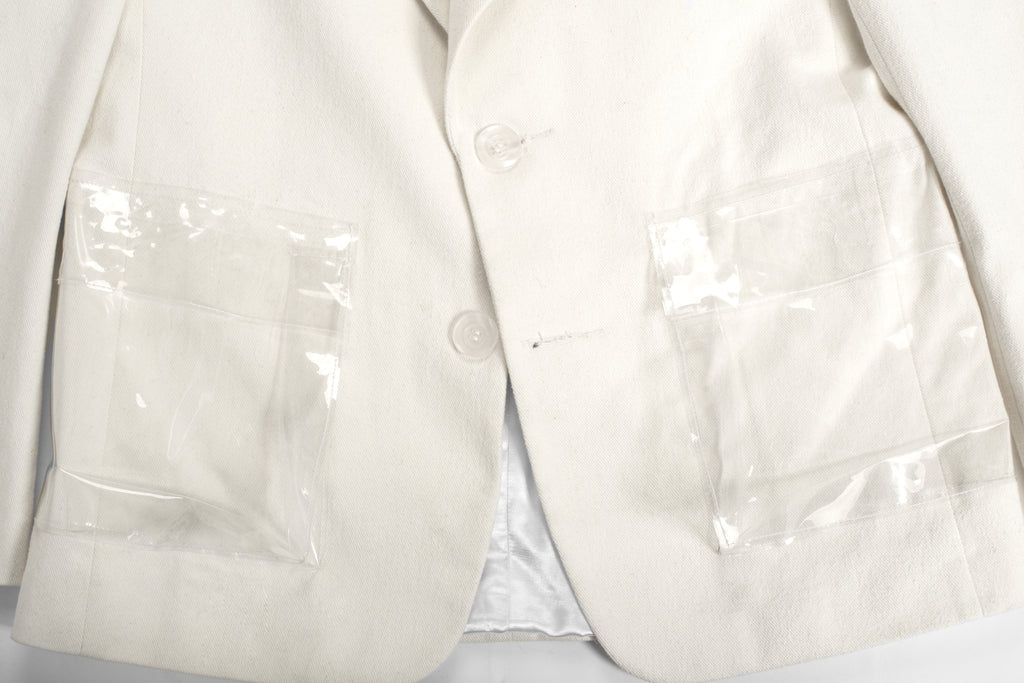 Sin white® Whipcord suit jacket