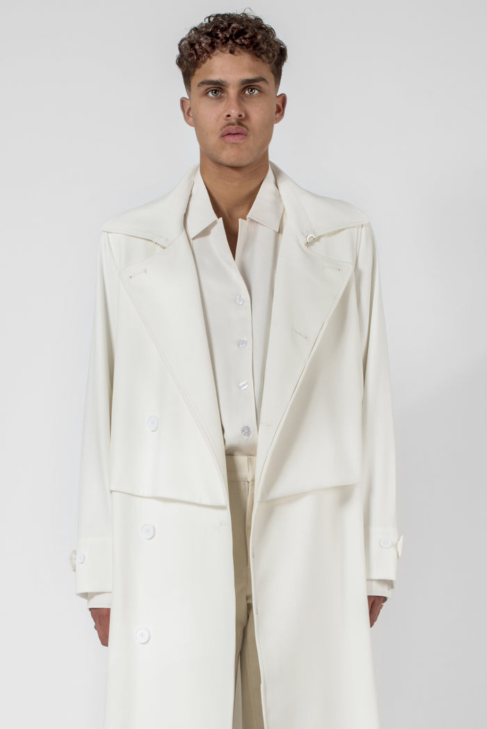 Sin White® printed storm trench