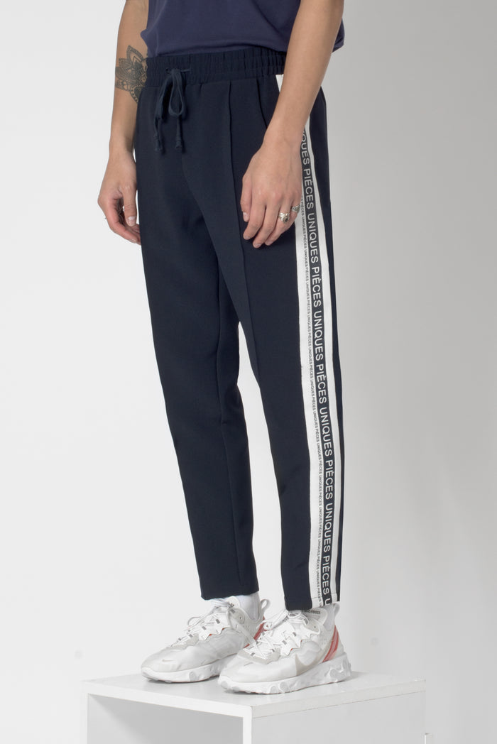 Night Blue® jogger pants printed silicon tape