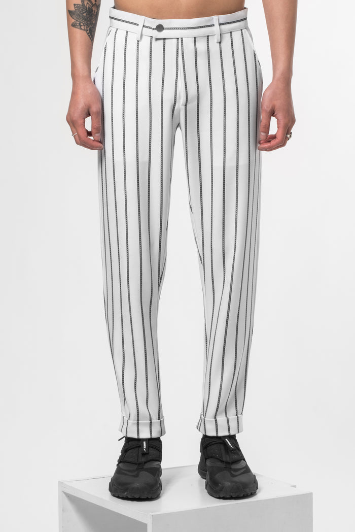 "White Sun® ""La Clé"" Monogram pants"