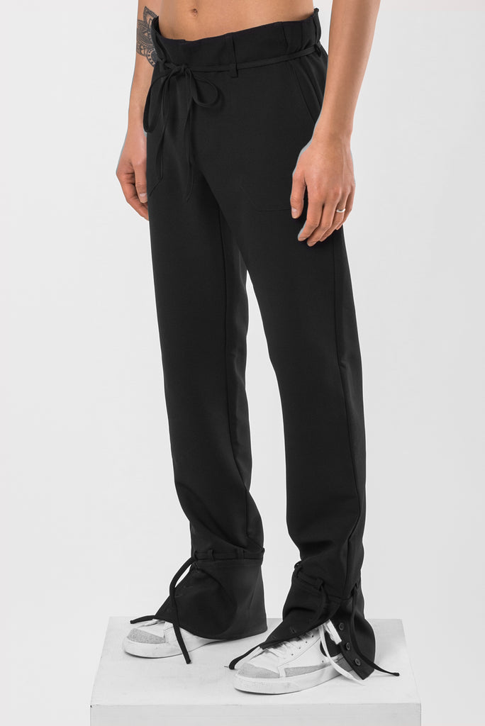 Abyss Black Shirt Pants