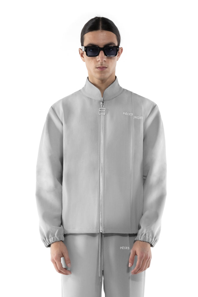 "Grey Eclipse ""La Clé"" track jacket"