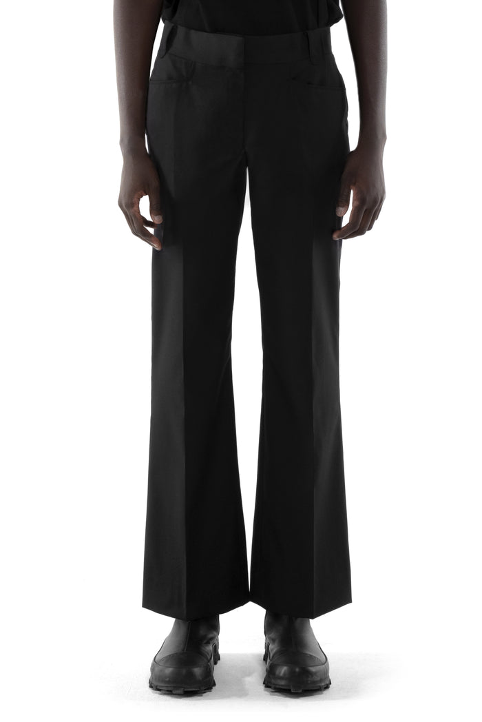 "Black moon ""Slash"" taylor Flared pants"