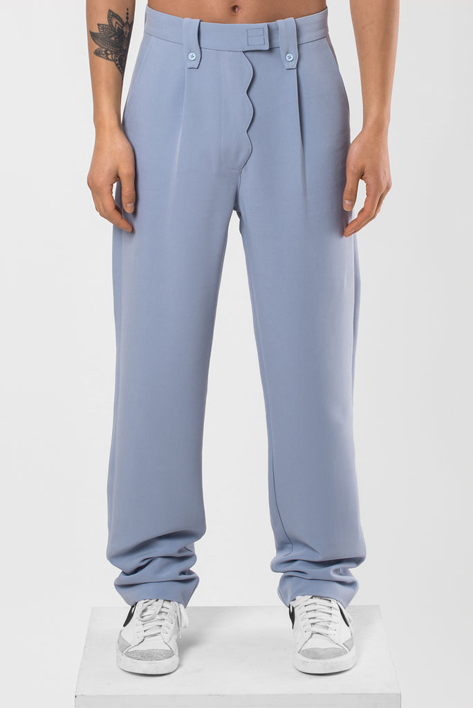Blue Sad Cloud Pants