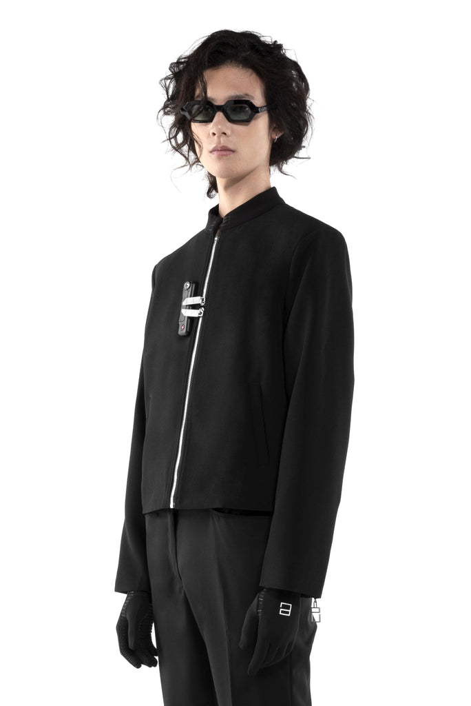 "Black Moon ""La Clé Lockers"" Student jacket"