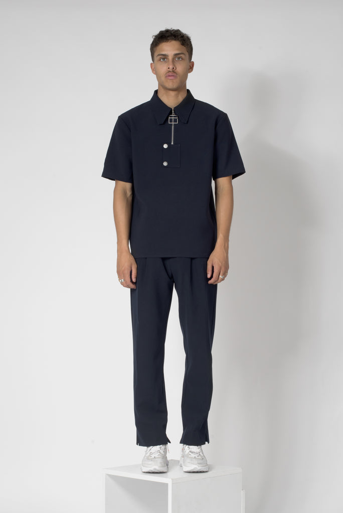 "Night blue® ""La Clé"" Polo Shirt"