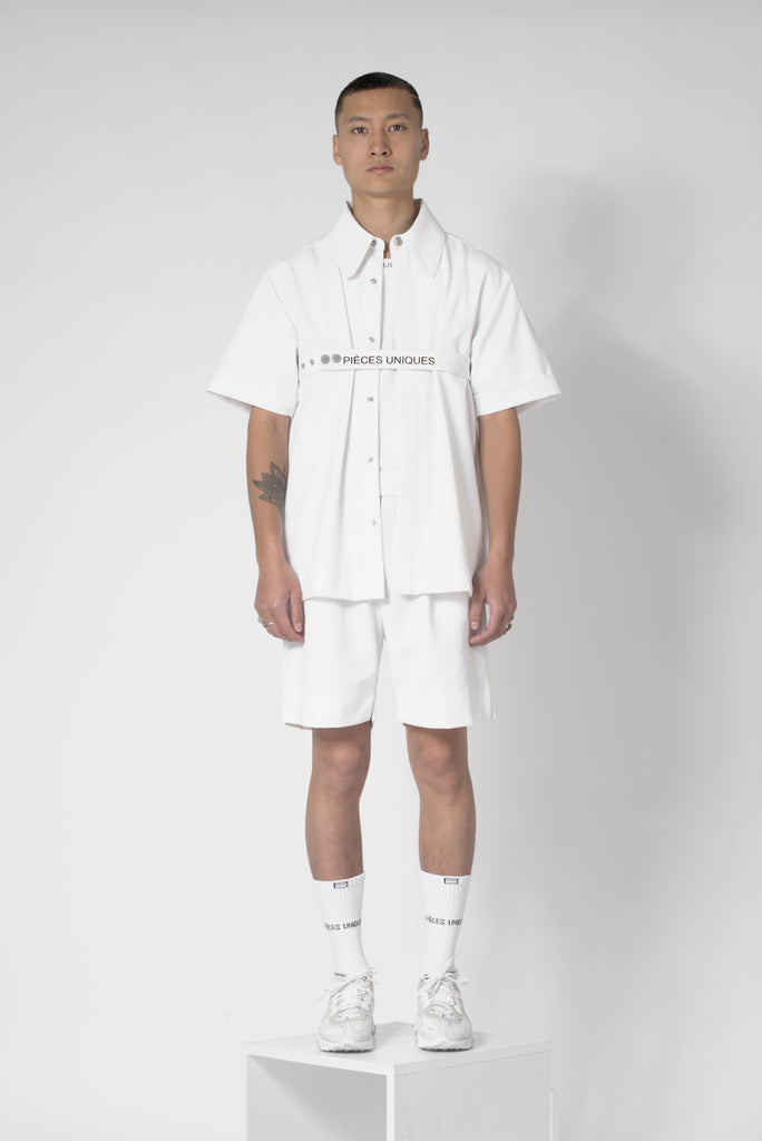 Day white® Tape Short Sleeves Shirt