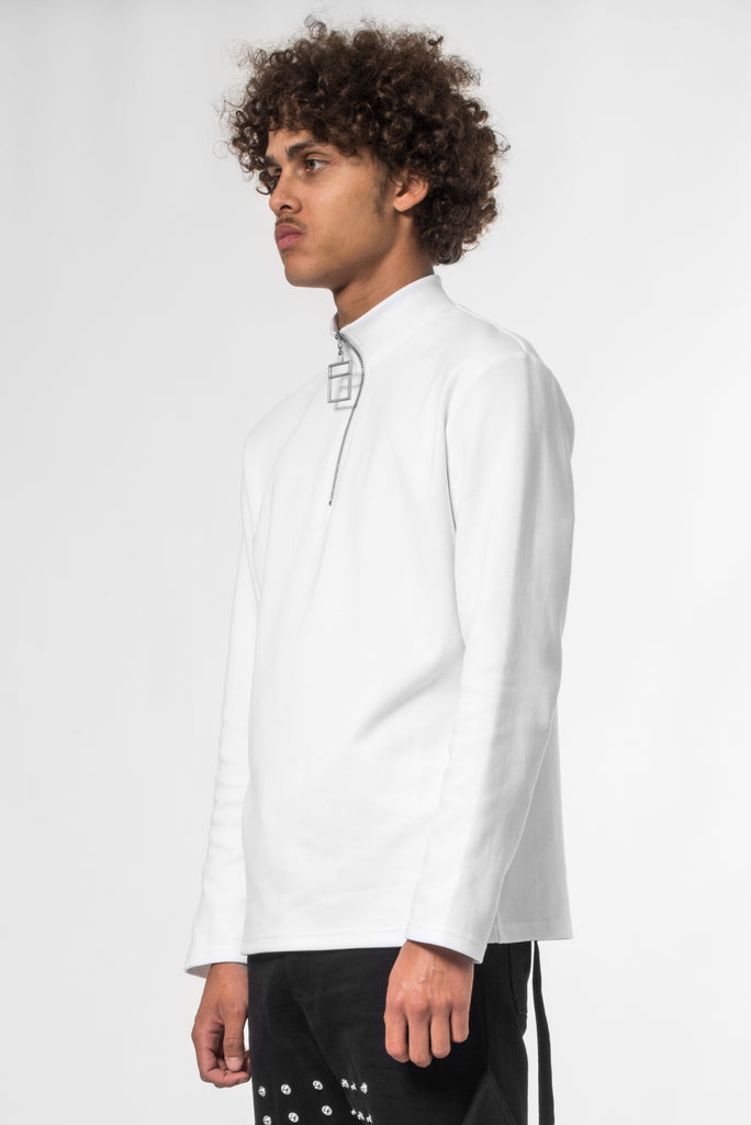 "White Sun® ""La Clé"" Long Sleeves T-shirt"