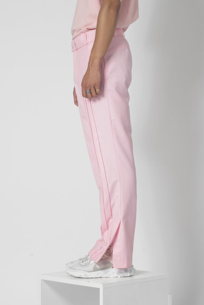 Dawn pink® cutted flared suit trousers