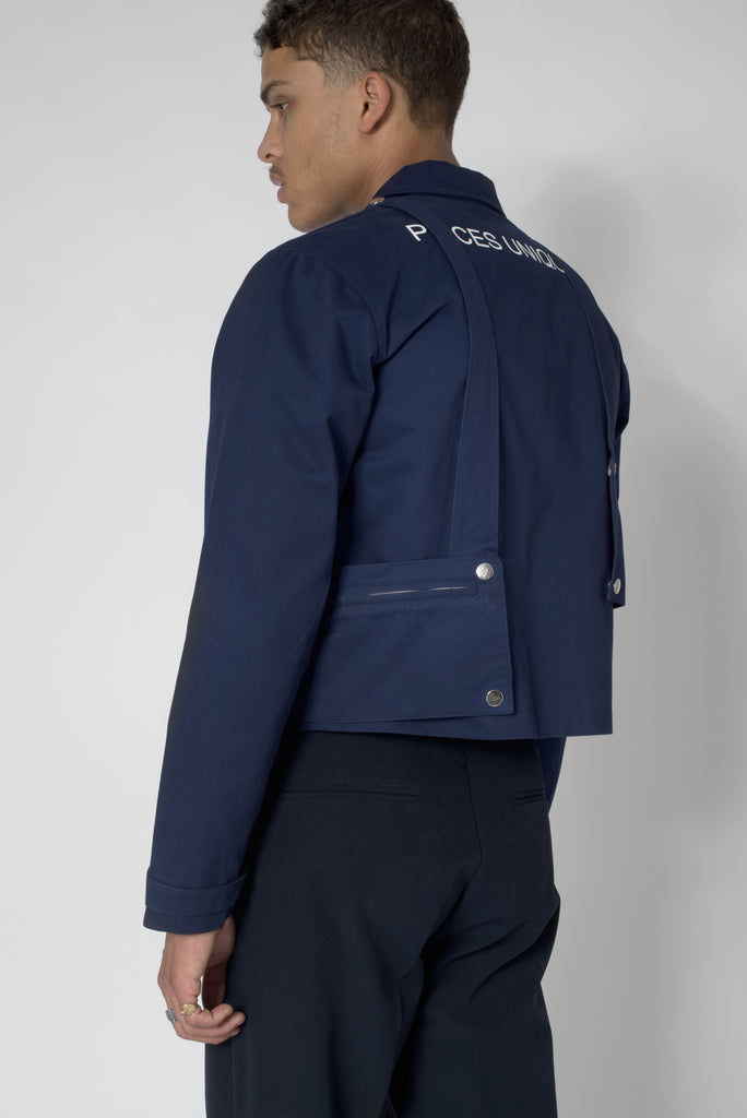 "Night blue® ""La Clé"" Bag Jacket"