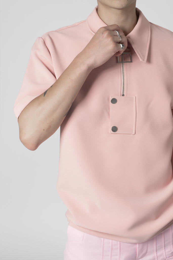 "Dawn pink® ""La Clé"" Polo Shirt"