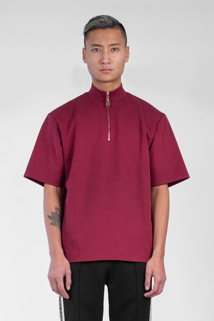 Ruby zip turtle neck t-shirt