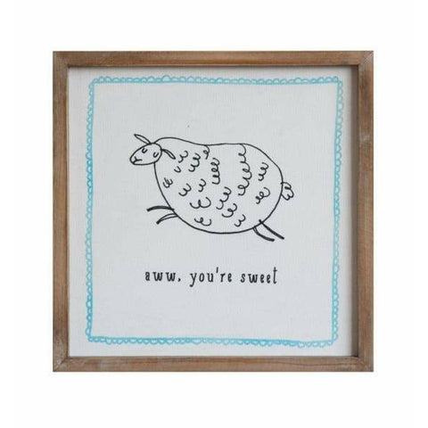 Aww Youre Sweet Framed Print