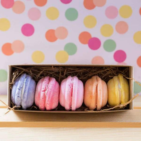 Bath Macarons - Shea Butter Bath Cookies