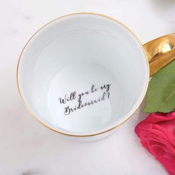 Best Friends - Will You Be My Bridesmaid Coffee Mug