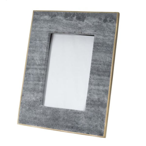 Black and Gray Marble Frame