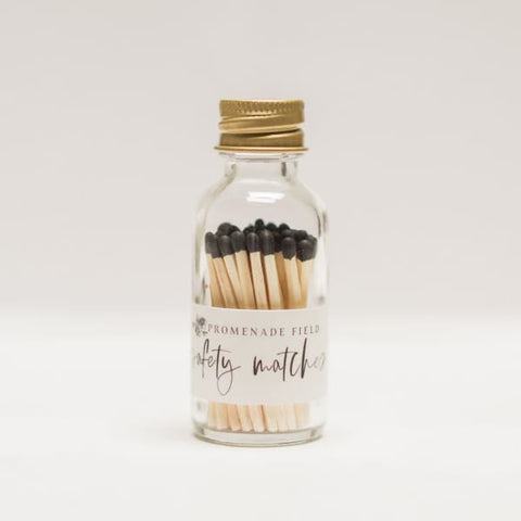 Black Safety Matches - Black