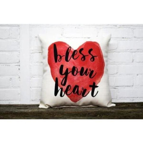 Bless Your Heart Pillow - Pillow