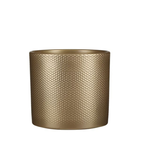 Ceramic Gold Pot