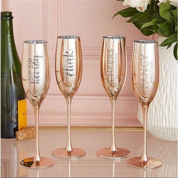 Champagne Glasses/set Of 2