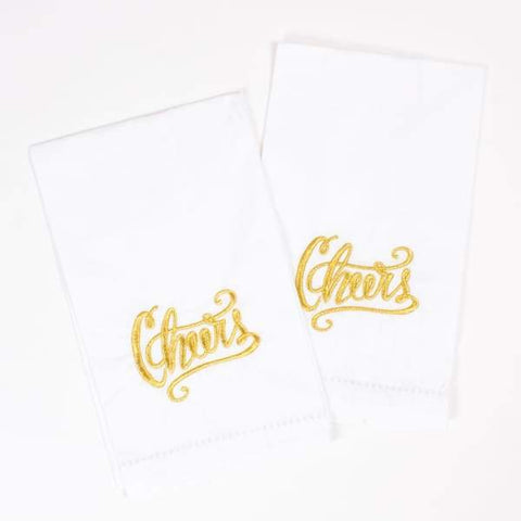 Cheers 2pc Bar Towel Set