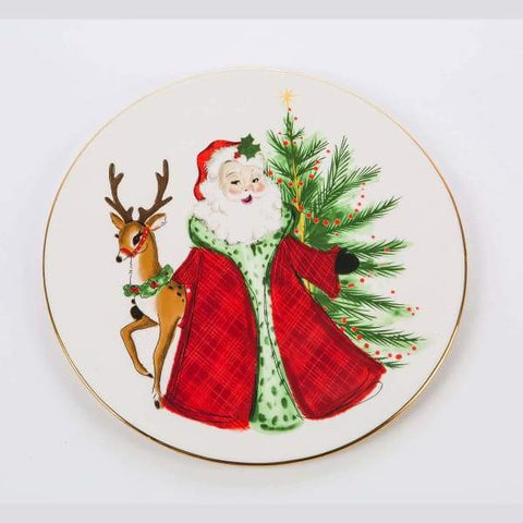 Christmas Cake Plate by Tom Tom
