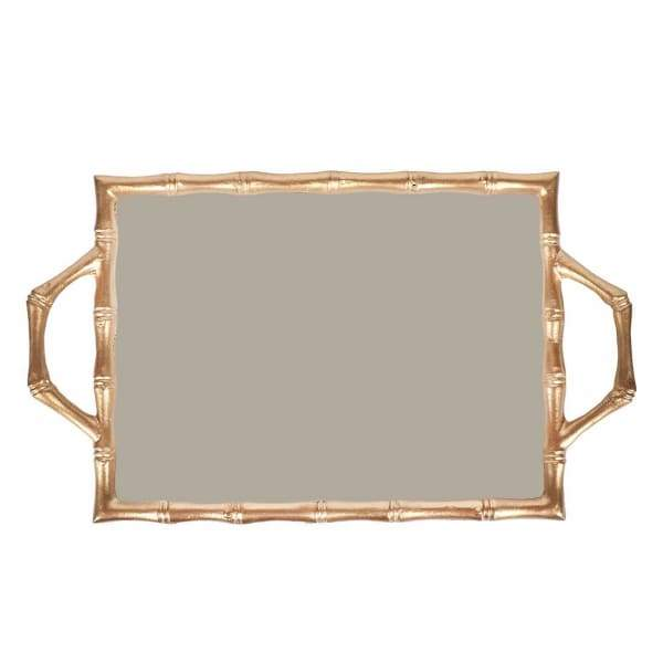 Jaye's Studio - Color Block Bamboo Tray - 10 x 14
