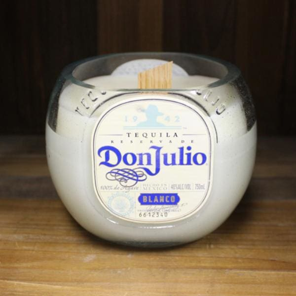 Don Julio Liquor Bottle Candle