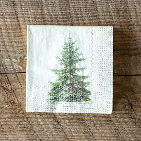 Fir Tree Paper Napkins