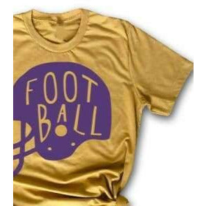 Football Helmet Tee